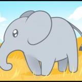 Un elefante mentiroso