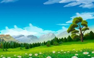 el arbol en la montaña